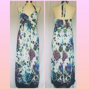 Multi-Color Scarlett Halter Top Dress